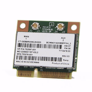 Laptop Notebook Wireless N 300Mbps Half PCI-E Card + Bluetooth