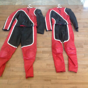 LEATHER MOTORCYCLE RIDING SUITS