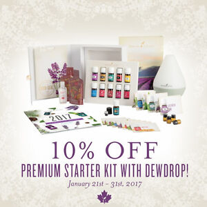 YOUNG LIVING Essential Oils Starter Kit Discount and FREE Oil