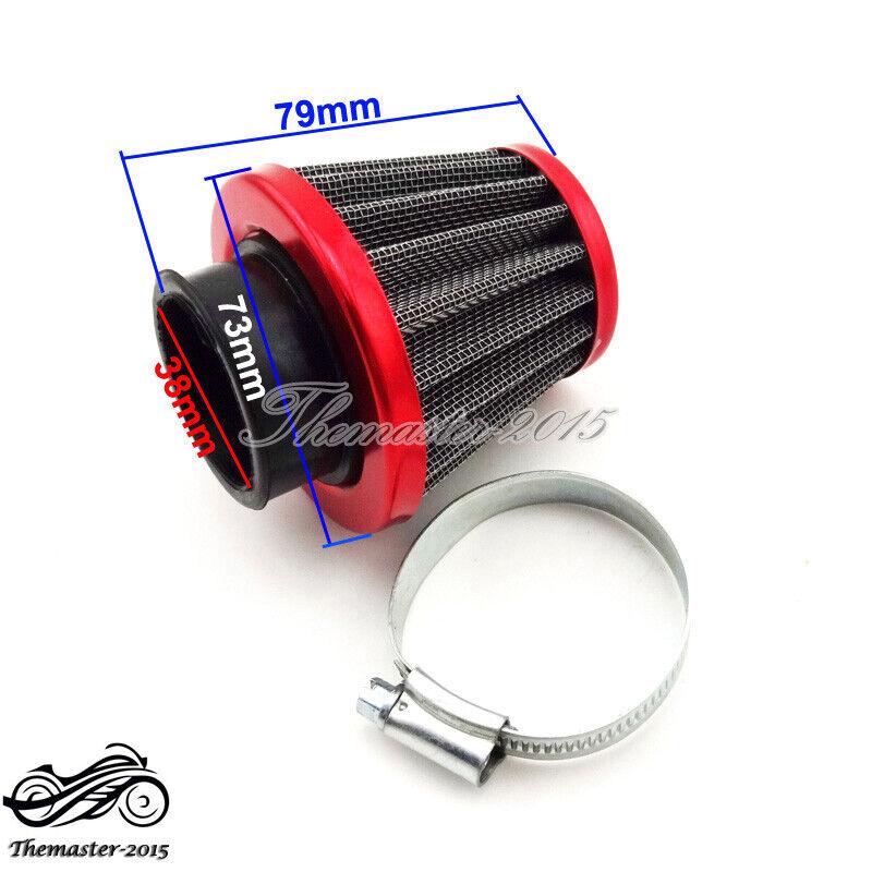 38mm Air Filter for Honda ATC185 ATC185S ATC200 ATC200S ATC200X ATC200ES ATC200M