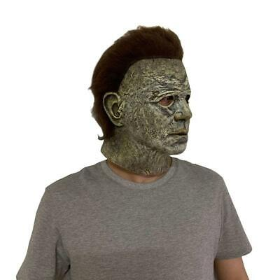 Horror Scary Latex Michael Full Face Mask for Masquerade Halloween Party Costume