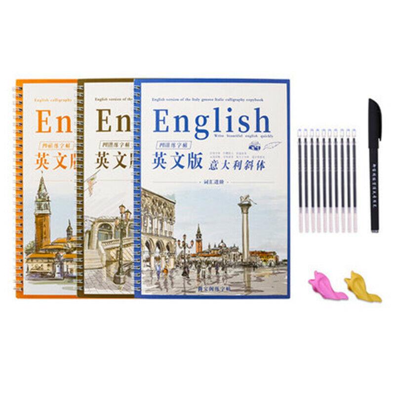 English Copybook Hard Pen Primary School Student