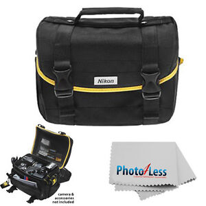 Nikon Digital SLR Camera Lens Case DSLR Gadget Bag For D7100 D3200 D5200 D5300