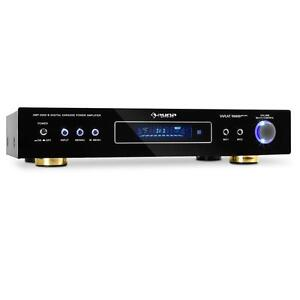 5.1 HOME THEATER SURROUND SOUND AMPLIFIER 600W RADIO HIFI RECEIVER AMP TUNER AUX