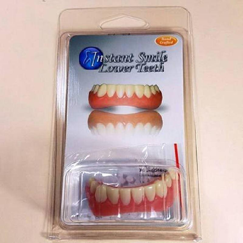 Instant Smile Teeth BOTTOM VENEERS Fake Cosmetic Dr Bailey