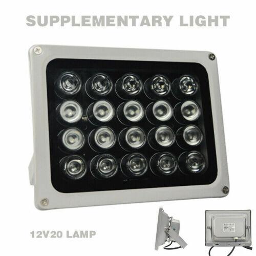 20 Array LEDS IR illuminator Infrared Light 100m 12V Lamp for HIK CCTV Camera