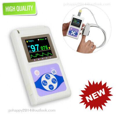 Us 24h Finger Pulse Oximeter Spo2 Pr Sleep Heart Rate Monitor Alarm Software