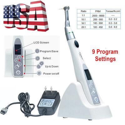 UPS AZDental Endodontics Treatment Reciprocation Endo Motor 9 Program Settings