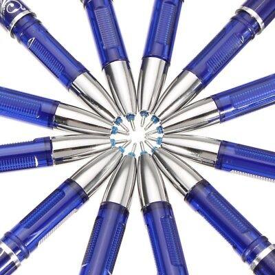 Erasable Gel Pen 0.5 Mm Tip Refill Stationery Writing Pens Slim 12pc Fau