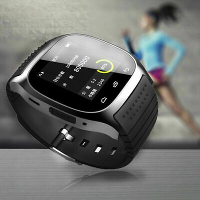 M26 Wrist Waterproof Bluetooth Smart Watch Phone Mate For Android HTC iPhone iOS