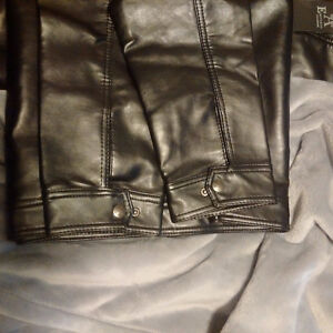 Emporio Armani Classic Leather Jacket -New / Never Worn /Replica Cambridge Kitchener Area image 1