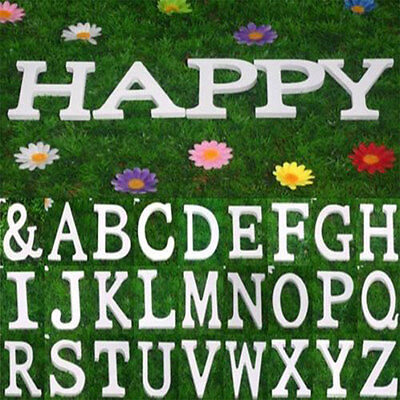 26 Wooden Wood Letter Alphabet Word Free Standing Wedding Party Home Decoration