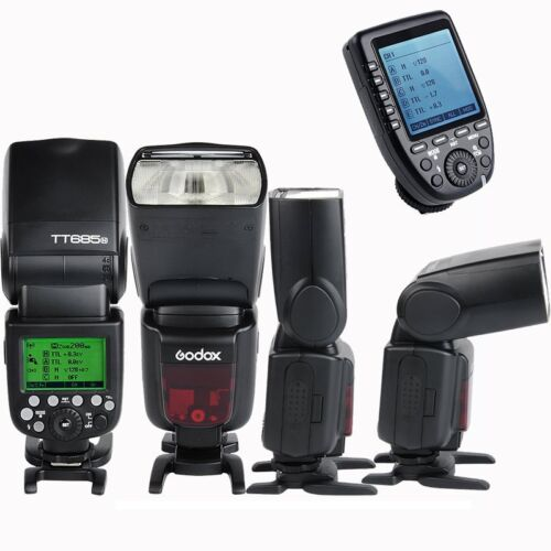 Godox TT685N 2.4G TTL HSS Camera Flash Speedlite Xpro-N Transmitter for Nikon