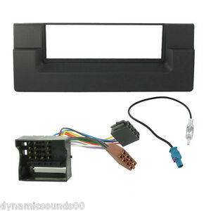 bmw 5 series e39 x5 car cd stereo radio fascia wiring iso aerial fitting kit ebay