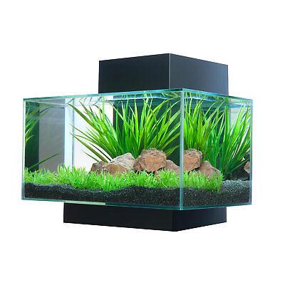 Fluval 6 Gallon Edge Aquarium 21 LED, Black