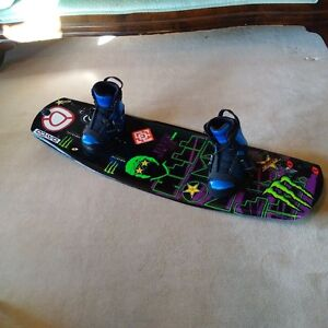 wakeboard with bindings excellent condition $150