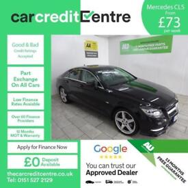 BLACK MERCEDES-BENZ CLS CLASS 3.0 CLS350 CDI SPORT AMG ***FROM £88 PER WEEK***