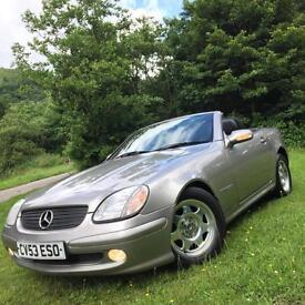 Mercedes-Benz SLK200 (163)**1Lady Owner Since 05,Just 89k!**