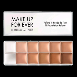 Makeup Forever 11 Foundation Palette. Brand New.