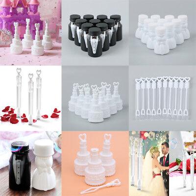 10X Empty Soap Bubble Bottle Tube Children Gift Wedding Favour Supplies 4 Style - Bubble Bottle