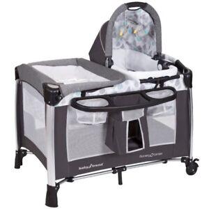 Bassinet - 4 in 1 Drip Drop Nursery Playard Center