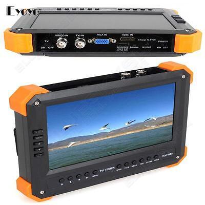 X41ta 7 Monitor Camera Tester 1080p Hd-tvi Hdmi Vga Analog Cvbs 4-in1 Input