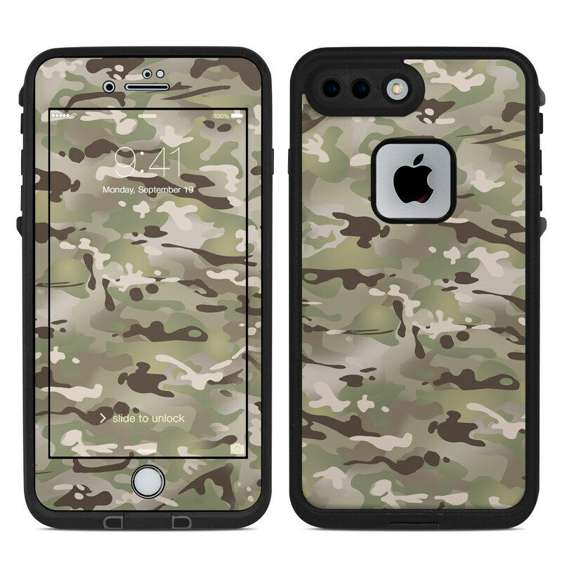 Skin for LifeProof FRE iPhone 7 Plus/8 Plus - FC Camo - Sticker Decal