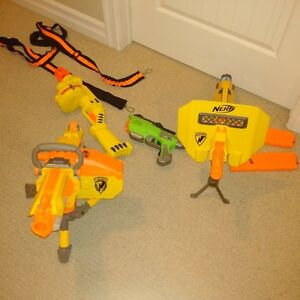 Nerf gun collection! great shape $50 for lot