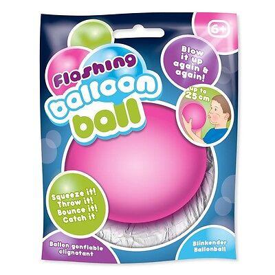 Balloon Stress Ball - Flashing Balloon Ball Sensory Toy - Reusable - Fidget Stress Sensory Autism