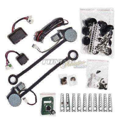 Eléctrico Universal Efh Elevalunas Kit de Modificación Completo 2x Motores