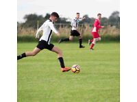 Football players required for Saturday team based in Northamptonshire. NN7 4DP