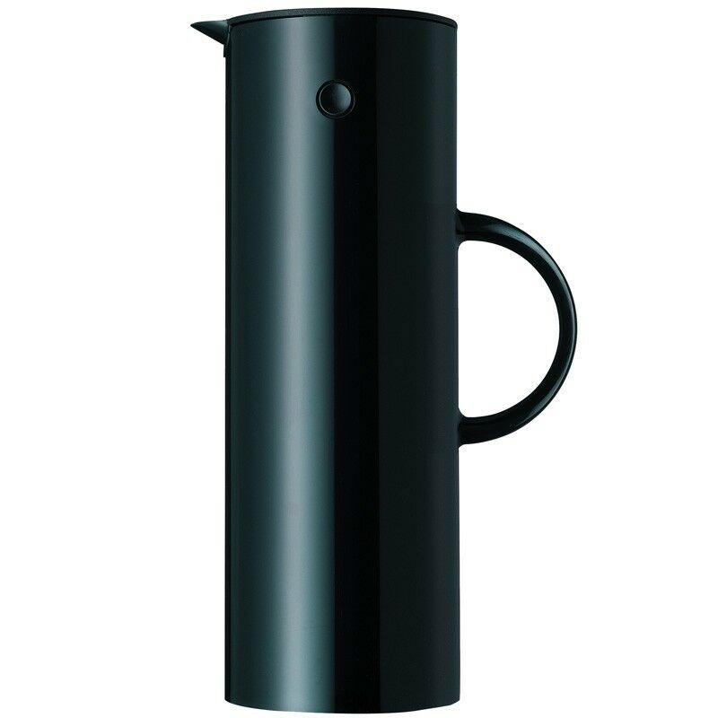 stelton isolierkanne 1 l schwarz thermoskanne 253056706137. Black Bedroom Furniture Sets. Home Design Ideas