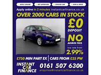 Ford Focus Titanium Tdci 1.5 Manual Diesel GOOD / BAD CREDIT CAR FINANCE