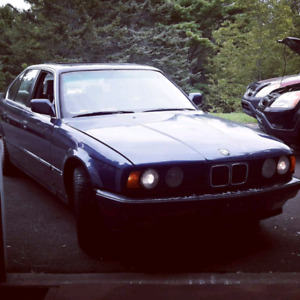 1990 bmw 535i/5 e34 m30 5 speed