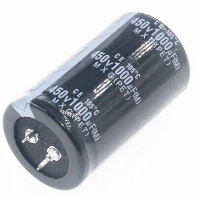 1pcs 450v 1000uf 1000mfd 1000f 105c Aluminum Electrolytic Capacitor 3560mm