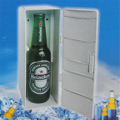 Mini USB PC Fridge Cooler Refrigerator Beverage Drink Cans Freezer Beer Cooler