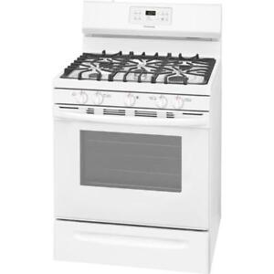 Frigidaire FFGF3054TW 30'' Gas White Range  on Sale (BD-2268)