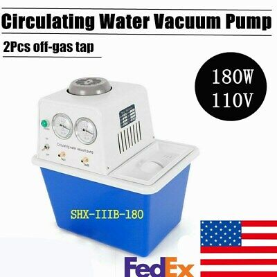 Shx-iiib-180 Circulating Water Vacuum Pump Air 180w Lab Chemistry Equipment Usa