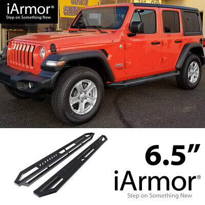 iArmor Aluminum Side Steps Armor Fit 18-20 Jeep Wrangler JL -