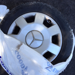 Mercedes-Benz Snow Tires & Rims (Set of 4) *Used 1 Winter*