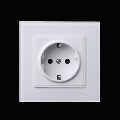 16A 110V-250V European EU German Standard Power Outlet Single Plug Wall Socket 16a Single Outlet