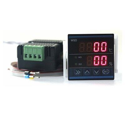 Digital Led Temperature And Humidity Controller Thermostat Hygrometer