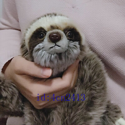 Cute Sloth Bradypod Plush Doll Wild Animal Stuffed Toy 28cm Kid Gift