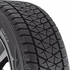 "Brand New 285/45R22 Bridgestone Blizzak DM-V2 Winter Tires In Stock!! 2854522 22"" Chevy GMC Escalade Ford F150"