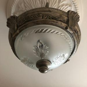 For Sale - 2 Light Semi Flush Mount Ceiling Light