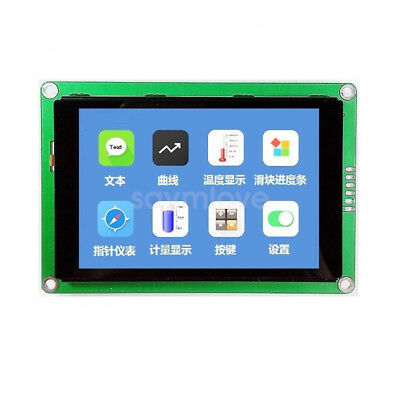 New 3.5 Hmi Uart Tft Lcd Display Module Capacitive Touch Screen 480x320