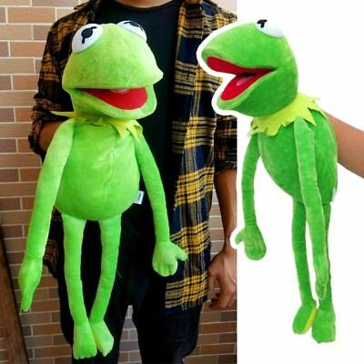 "Kids Birthday Xmas Gift 22"" Kermit the Frog Hand Puppet Soft Plush Doll Toy 1pc"