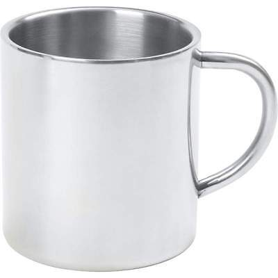 14oz COFFEE MUG Cup Stainless Steel Double Wall Tea Water Tumbler Camping Travel