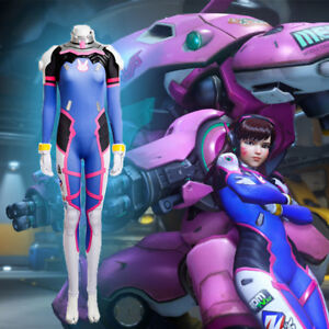 OW D.VA Cosplay Costume Women outfit