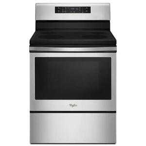 Whirlpool 30 Inch Single Oven Electric Range - Stainless Steel (WL2621)